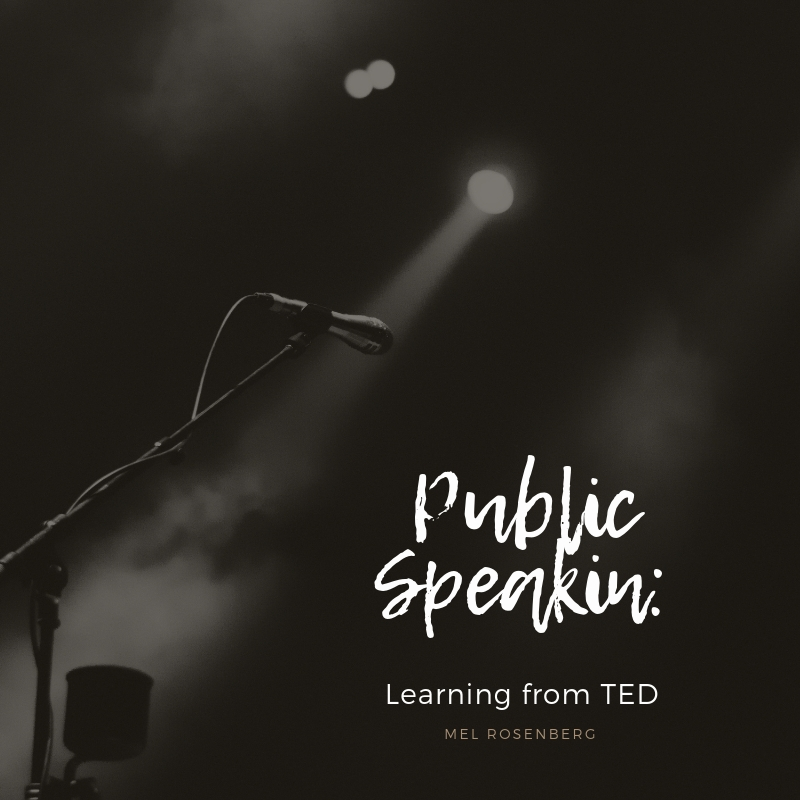 Artwork from the book - Public Speaking: Learning from TED by Mel Rosenberg - מל רוזנברג - Ourboox.com